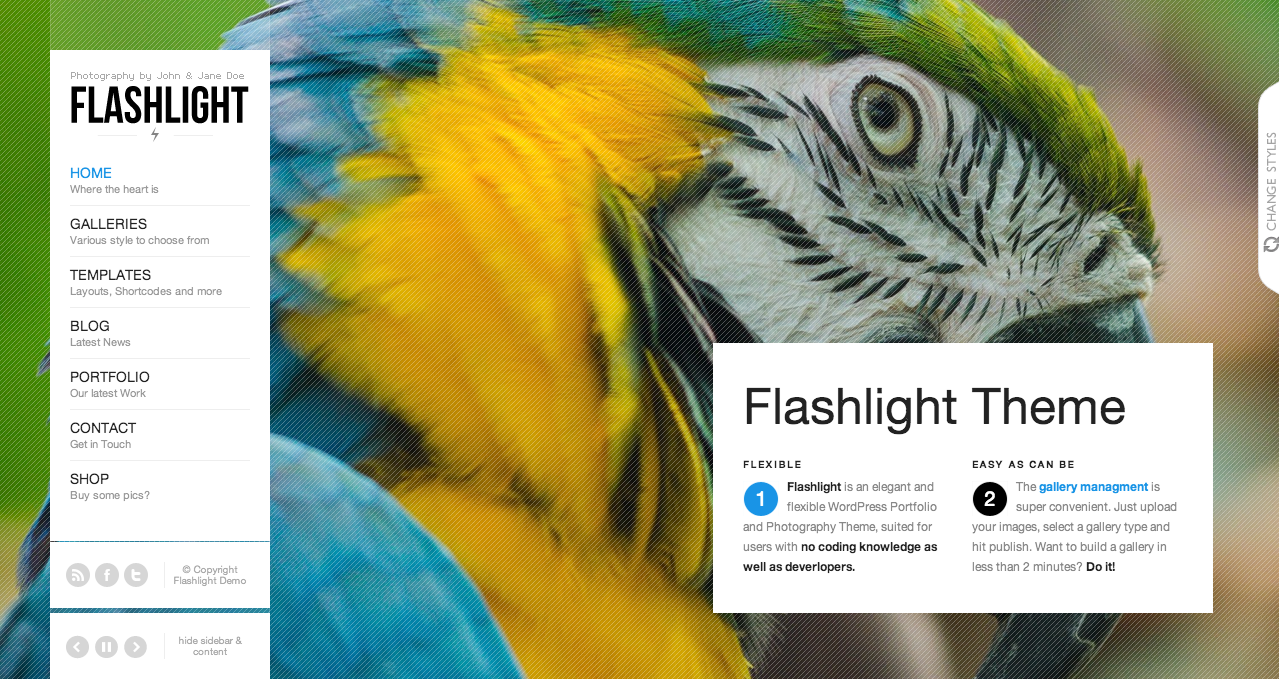 Flashlight - Best WooCommerce Themes 2013