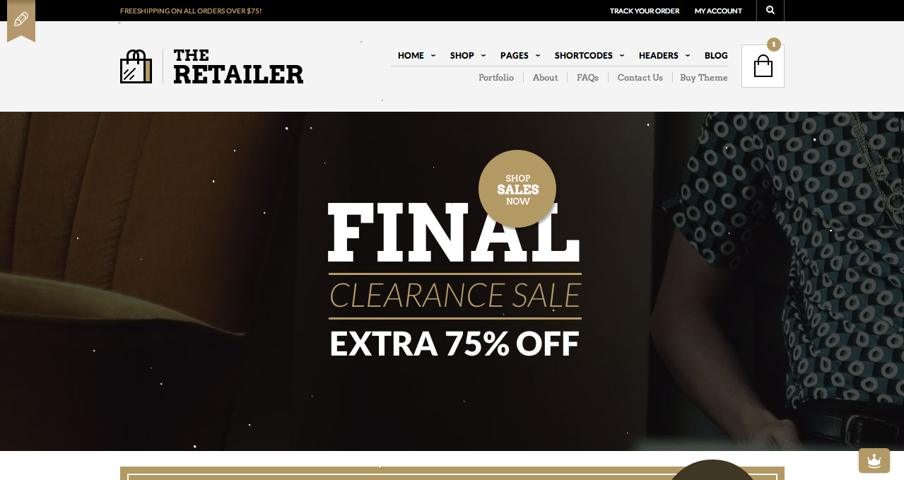 The Retailer - Best WooCommerce Themes 2013