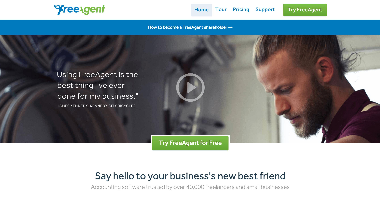 FreeAgent Discount Code