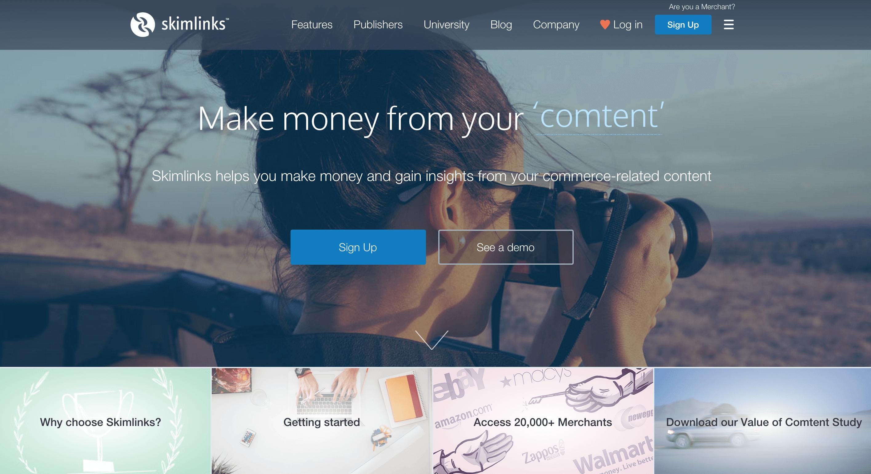 skimlinks-website
